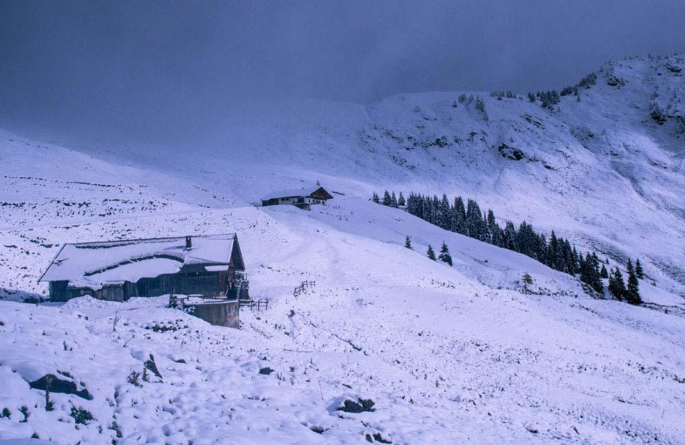 Noclegi turystyczne w Alpach