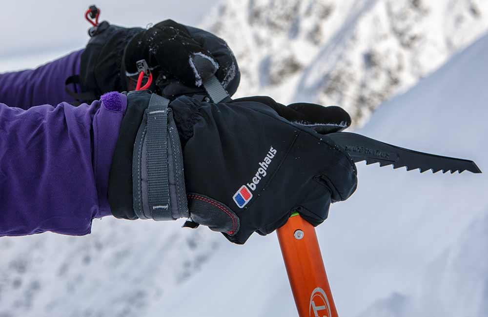 rękawice w góry zimowe