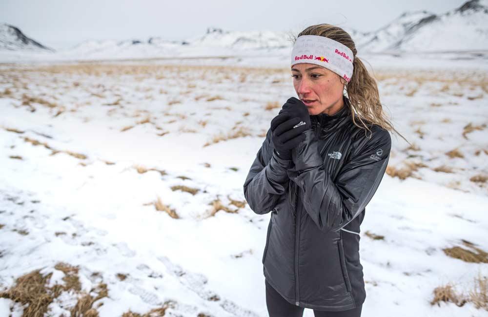 Trening biegacza zimą