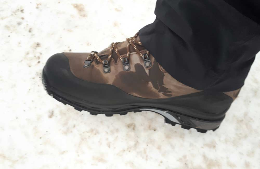 buty górskie skórzane