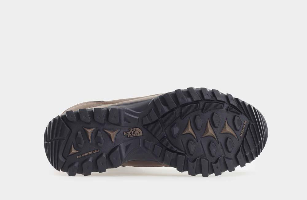 Buty z zimową podeszwą