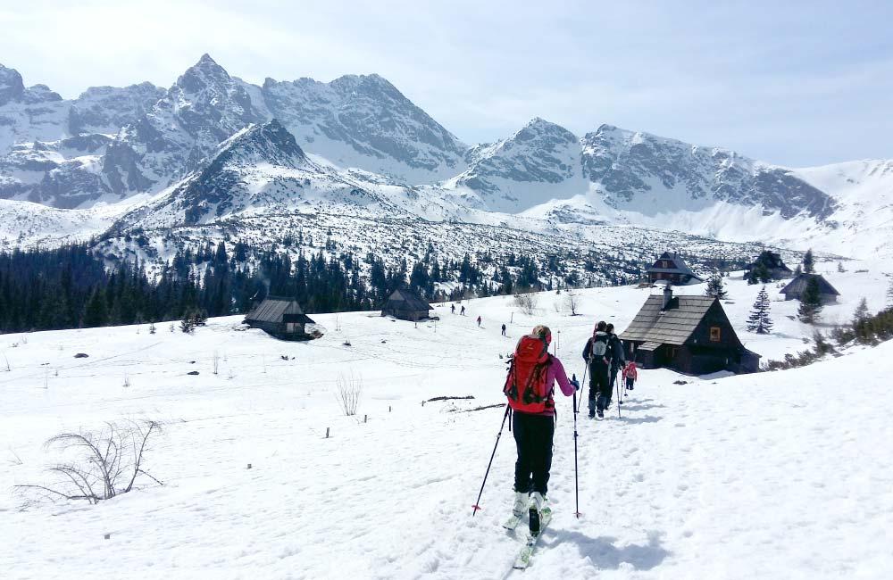 Trasy skiturowe w rejonie Kasprowego Wierchu