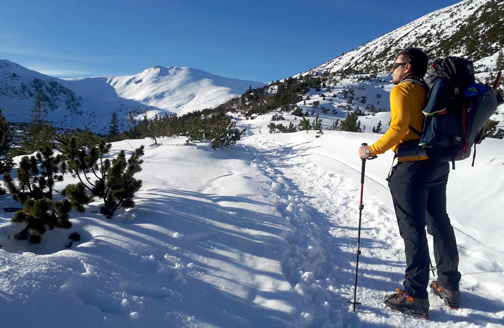 Buty na zimowy trekking