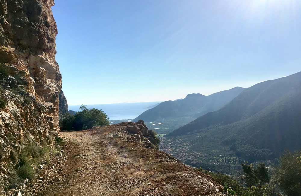 Leonidio - wspinanie blisko morza