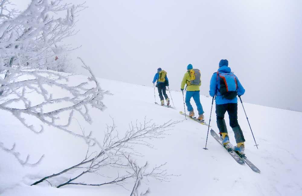 Szlaki narciarskie w południowo-wschodniej Polsce