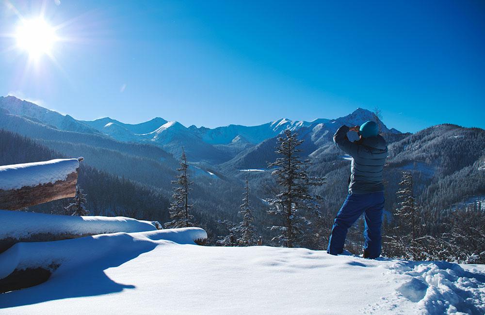 Zima w polskich górach