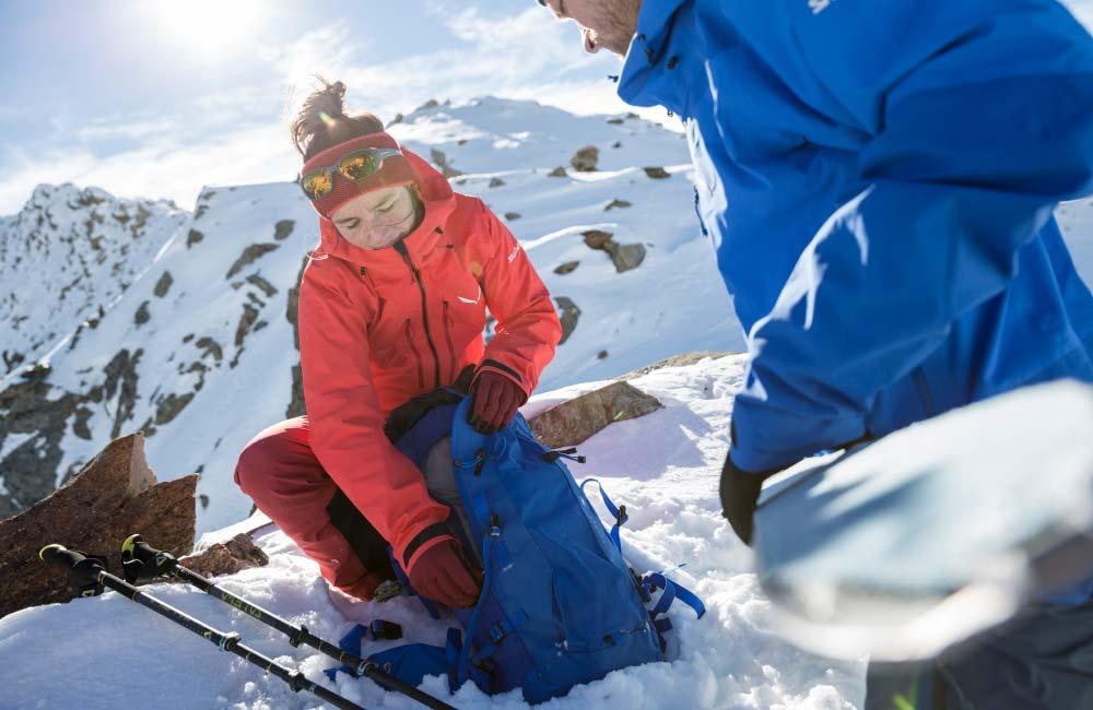 Jedzenie w góry zimą