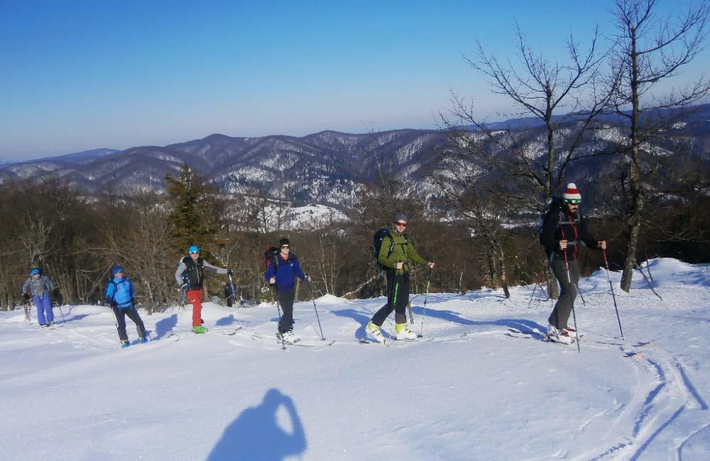 Wycieczki skiturowe w Bieszczady
