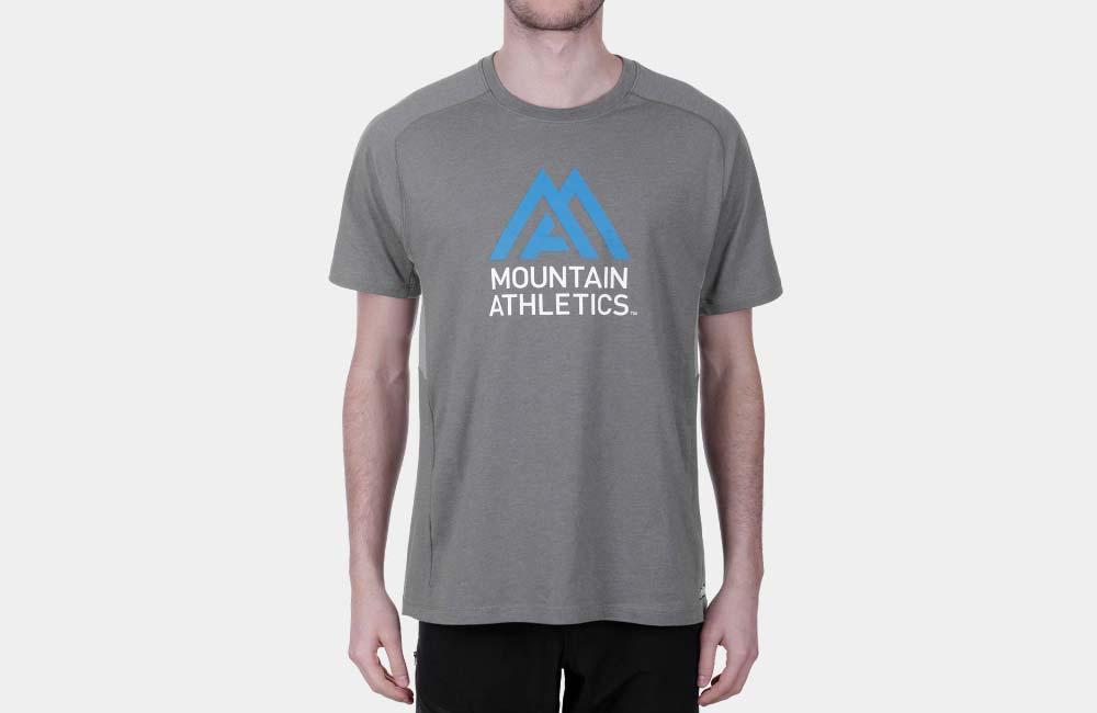 Koszulka bawełniano-syntetyczne - The North Face Wicker Graphic Crew