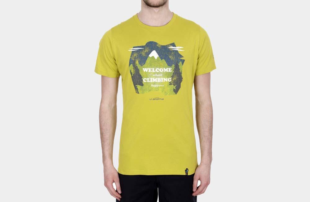 koszulka z bawełny organicznej - La Sportiva Welcome T-Shirt
