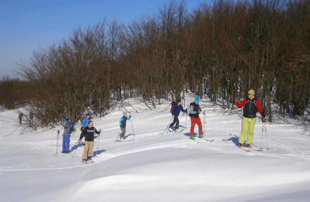 wycieczka skiturowa w Bieszcady