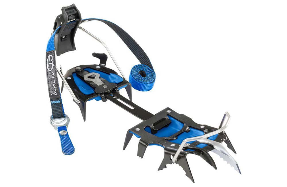 raki Climbing Technology Hyper Spike z długim zębem atakującym Hook