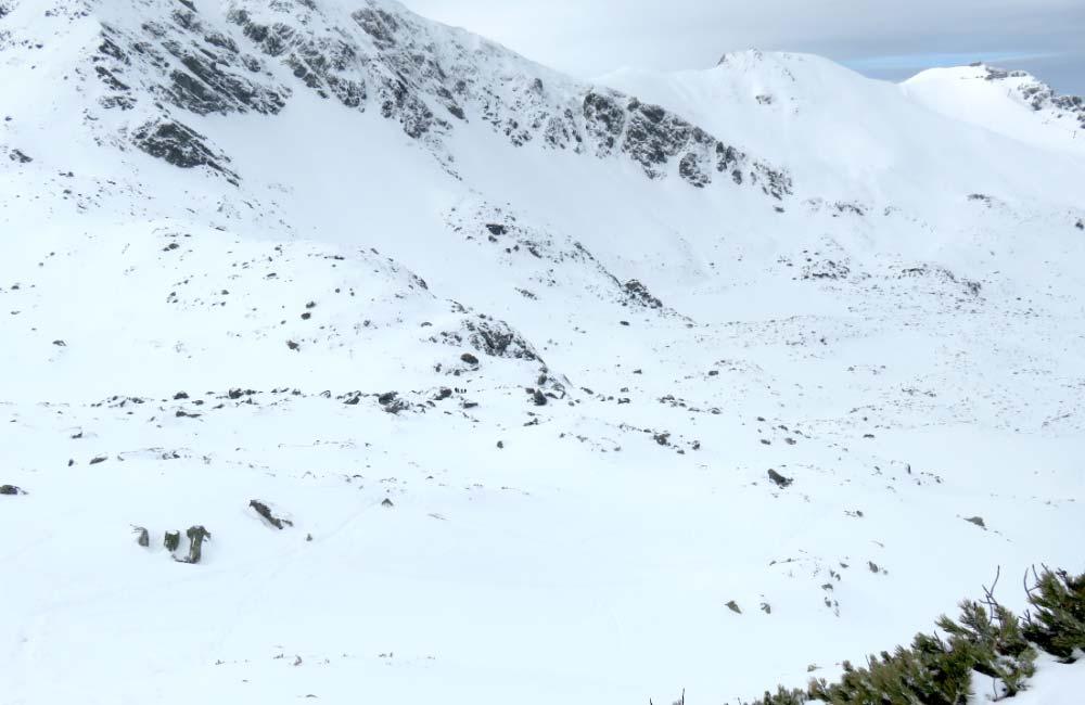Przełęcz Karb - skiturowy klasyk Tatr