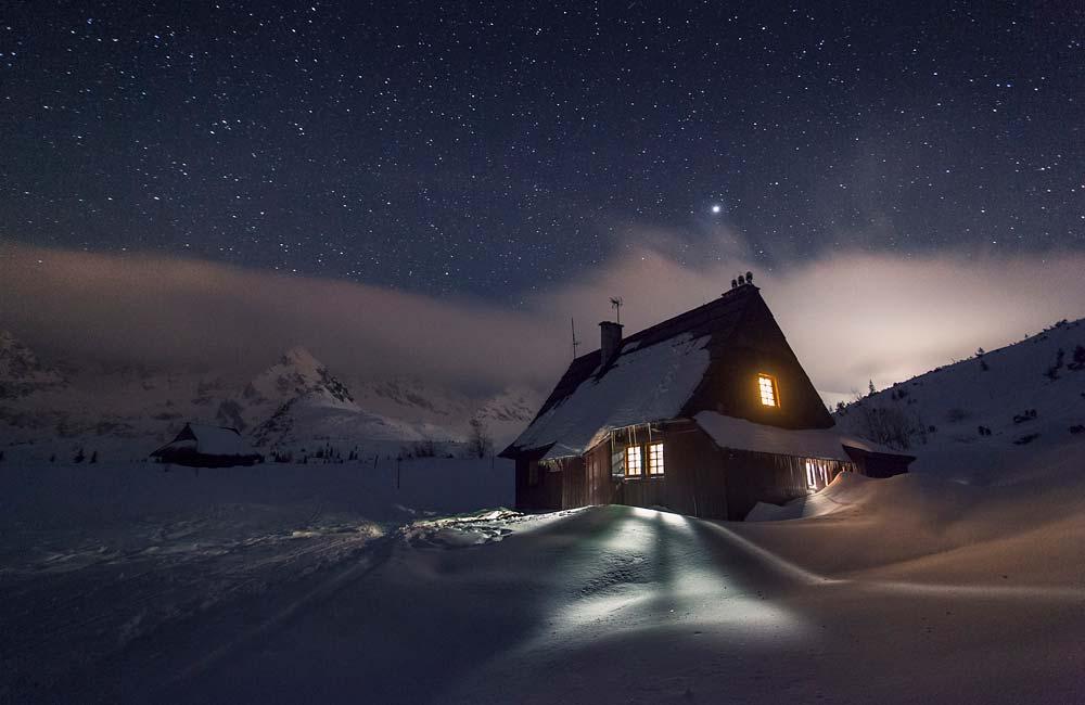 Tatry nocą