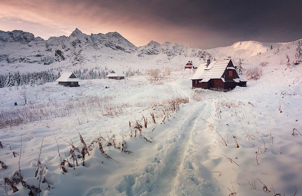 Betlejemka zimą