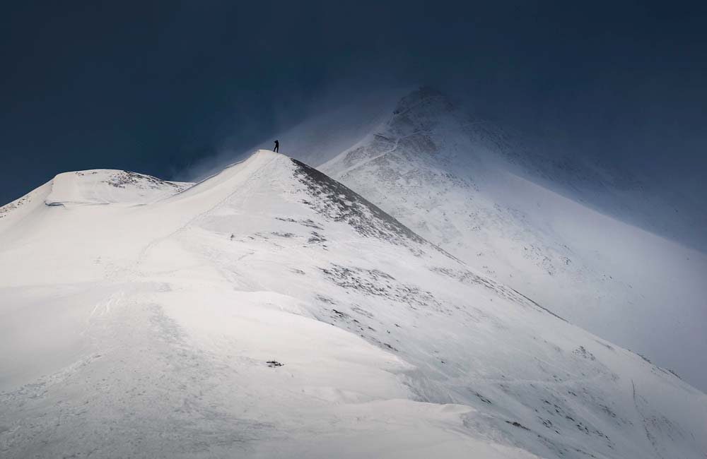 zamieć w Tatrach
