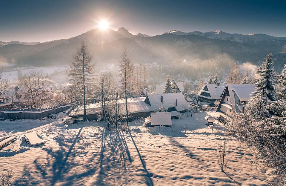 Giewont zimą
