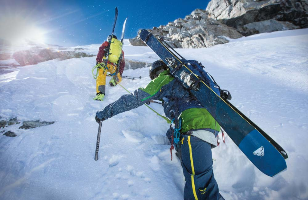 Sprzęt dla skitourowca