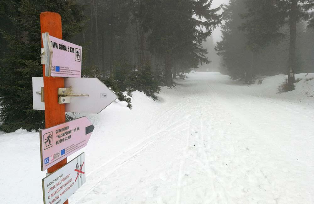 Trasy skiturowe w Masywie Śnieżnika
