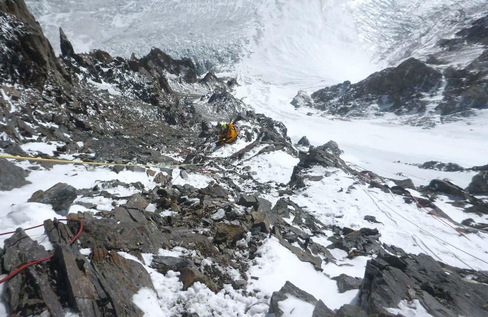 Wspinaczka w górach wsysokich