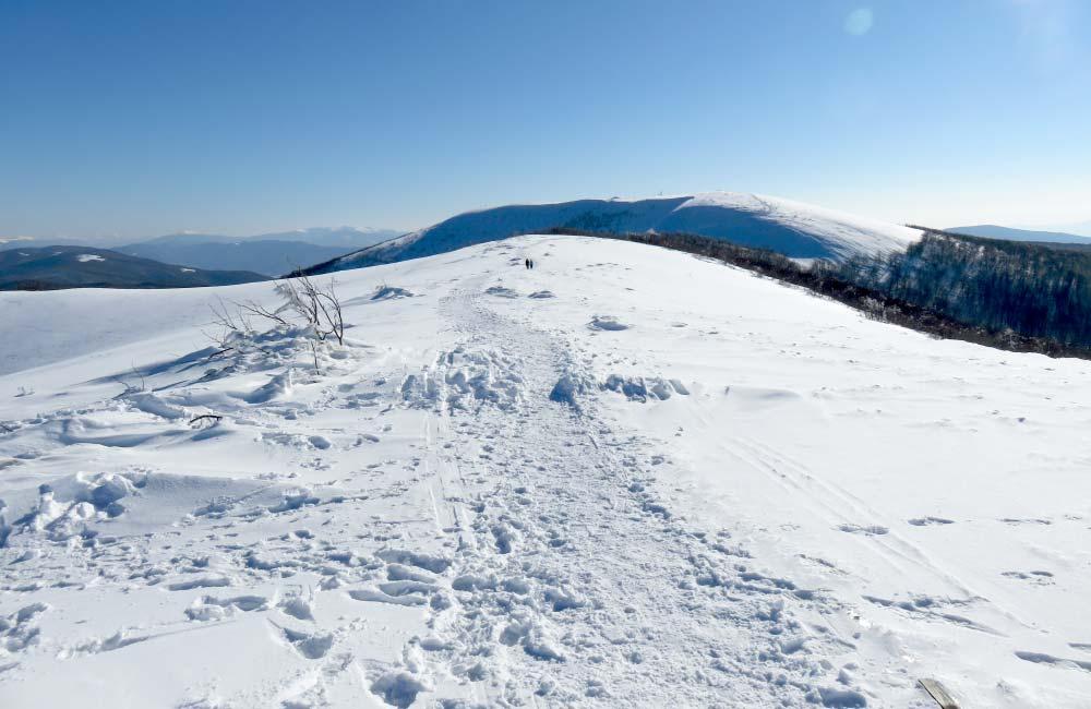 Bieszczady zimą - propozycje tras skiturowych