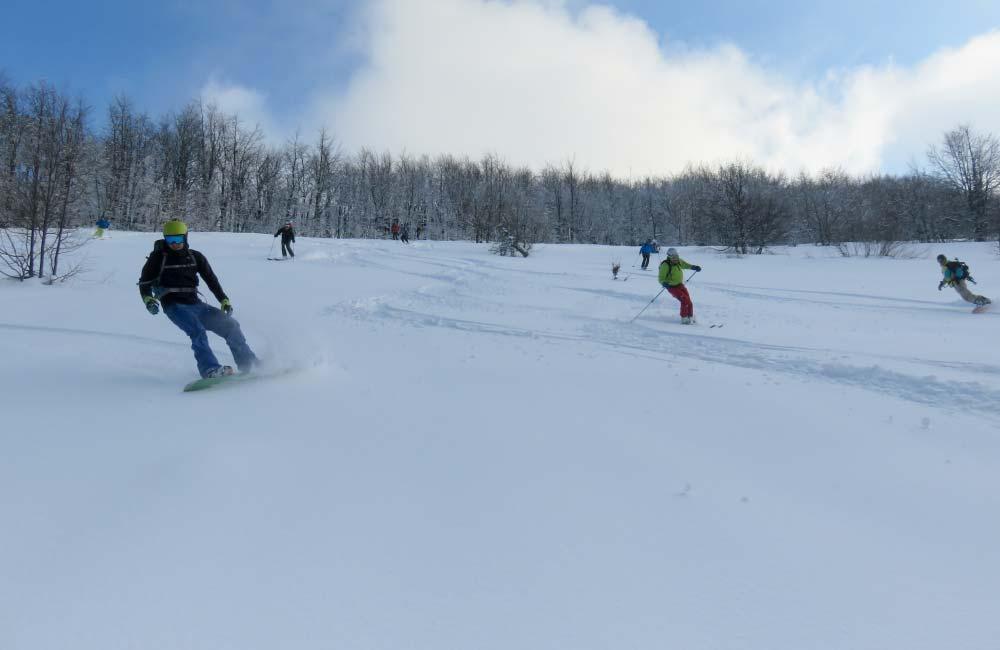 Jasło na nartach