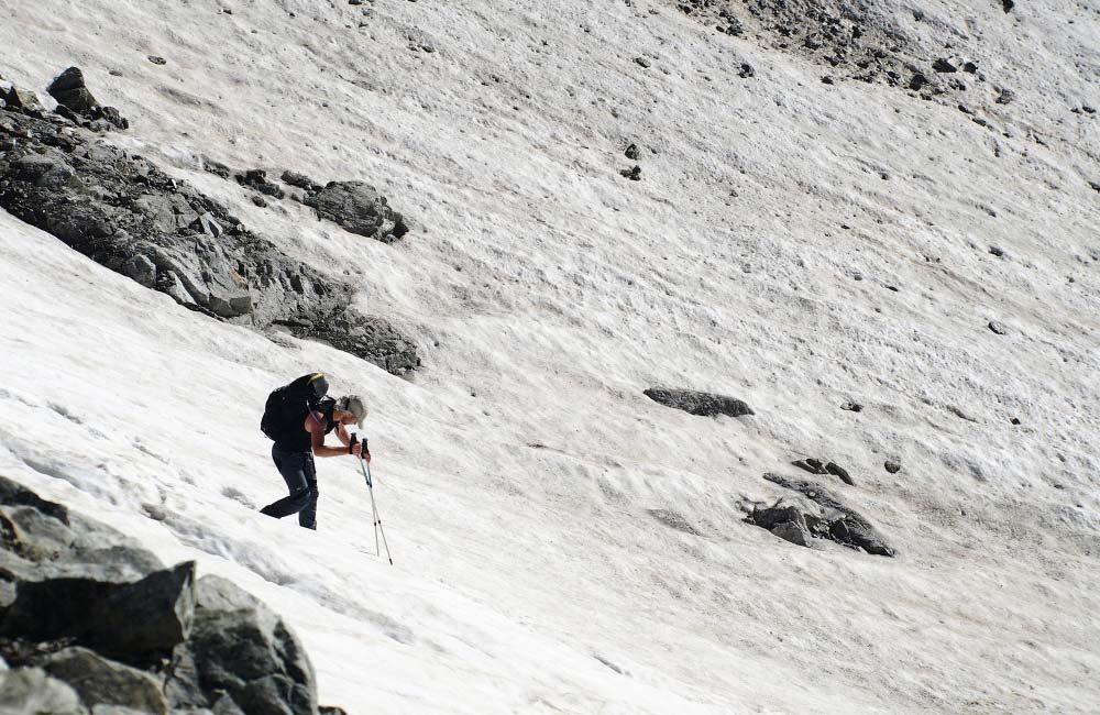 regulacja kijków trekkingowych