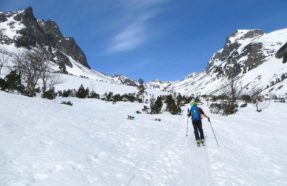 Dolina Staroleśna na skiturach