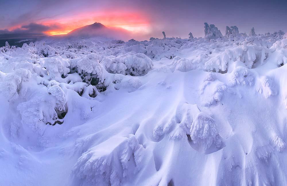 Najpiękniejsze zimowe trasy w Karkonoszach