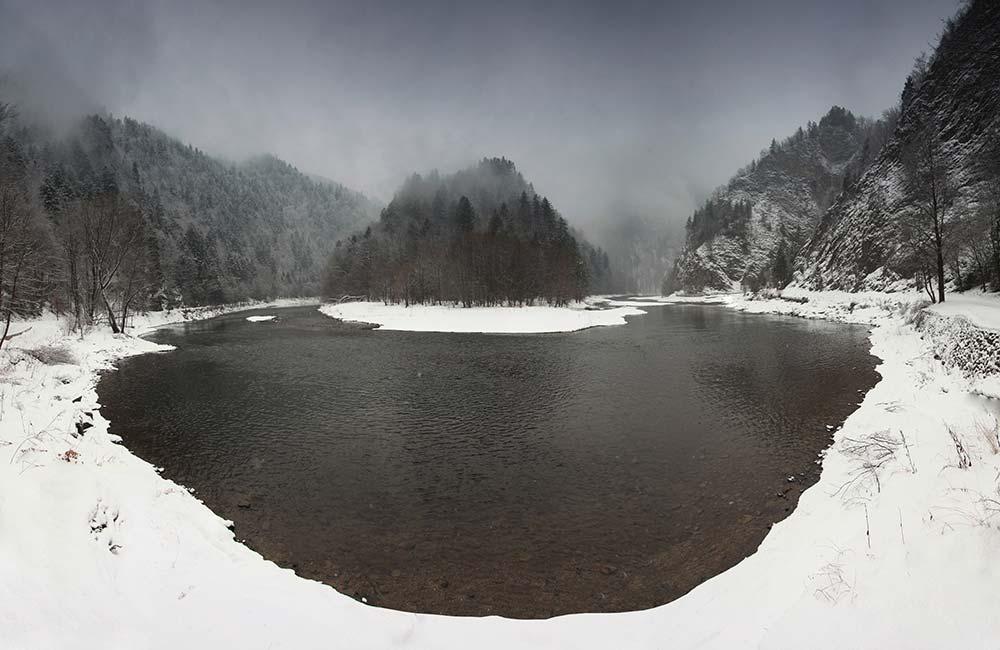Pieniny zimą - miejsca, które warto odwiedzić