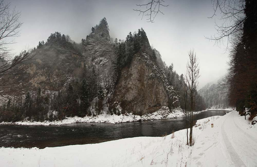 Zimowe zdjęcia Pienin