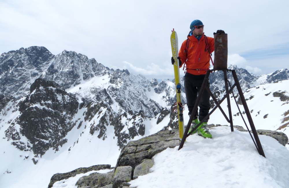 Świstowy Szczyt na skiturach