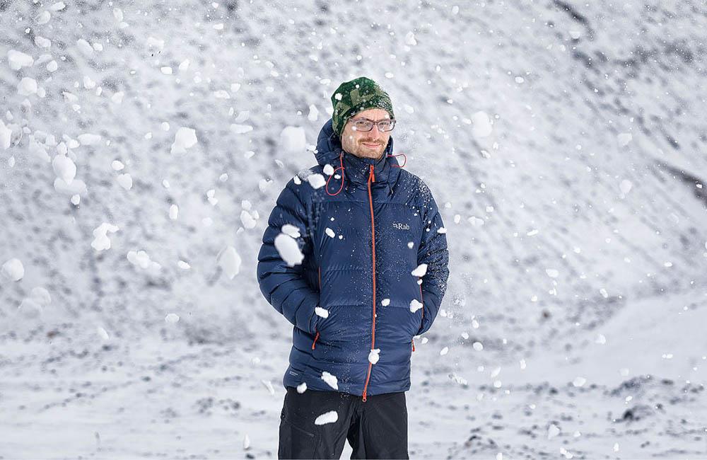 Męska kurtka puchowa Rab - na zimę