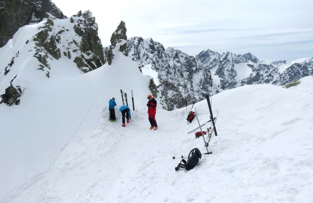 Skituring w słowackich Tatrach