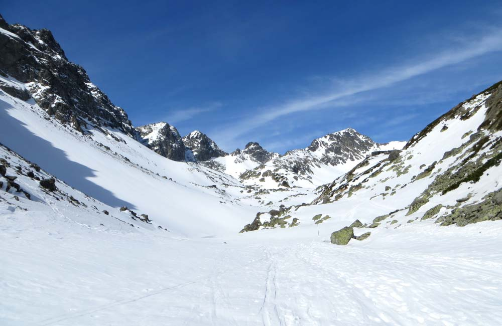Słowackie Tatry na skiturach