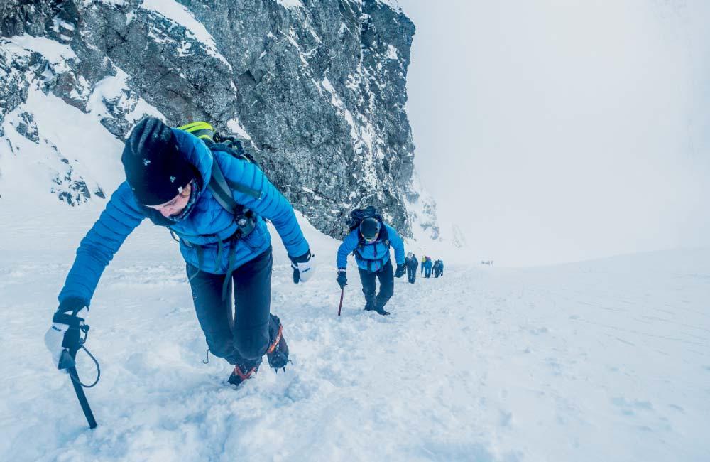 Wspinaczka na Rysy zimą