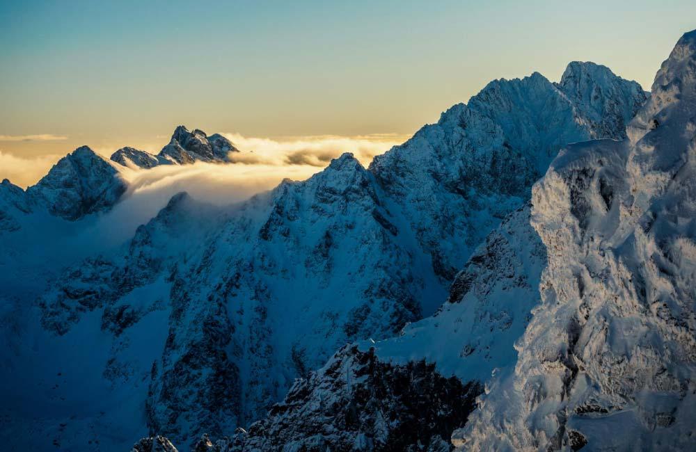 mgiełki w Tatrach