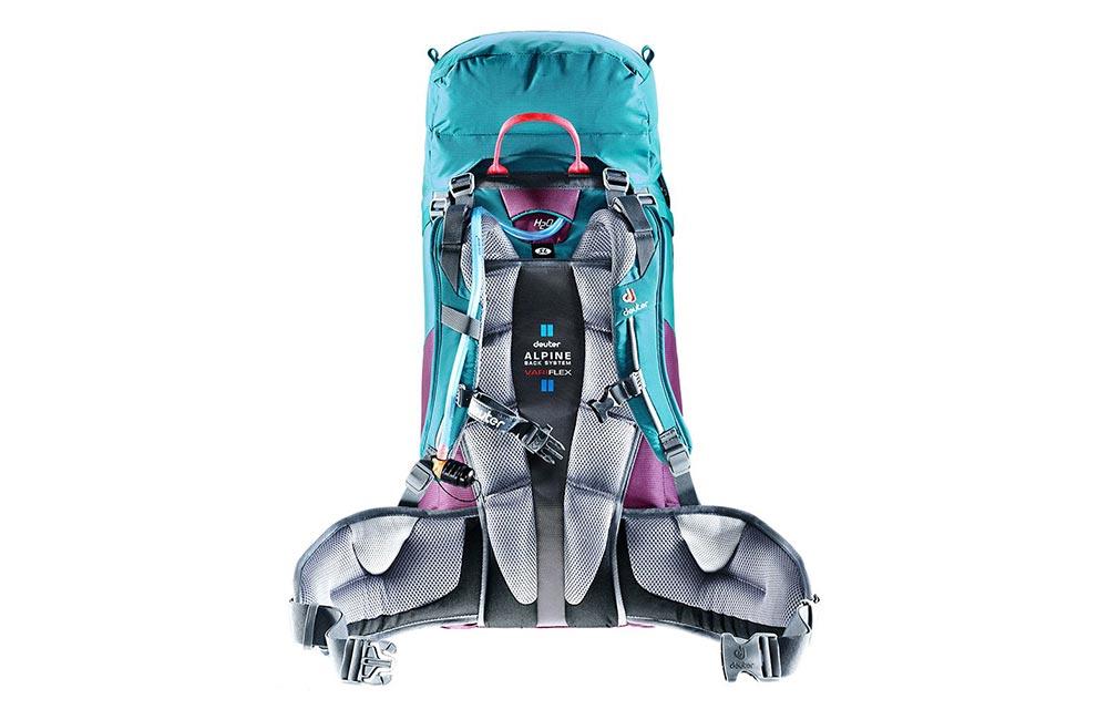 Jaki plecak wspinaczkowy wybrać? - damski plecak Deuter Guide 40+ SL