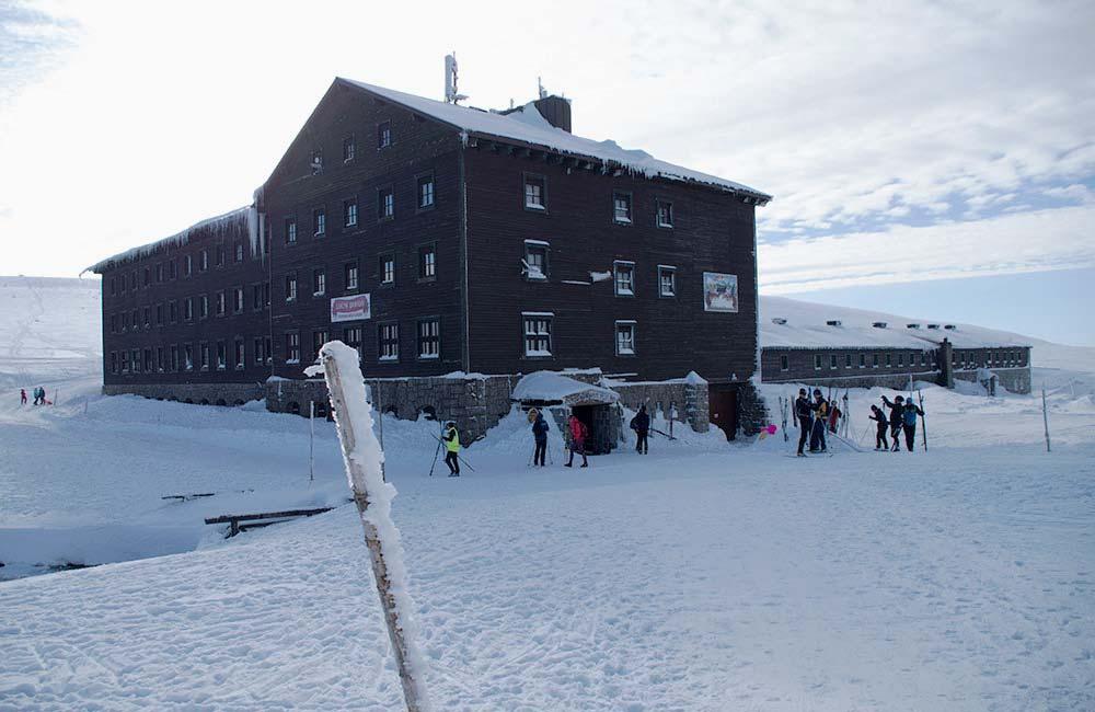 Schronisko blisko Śnieżki