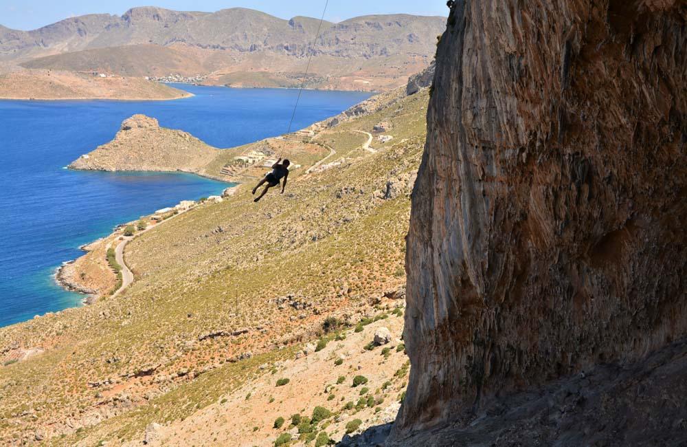 Wspinaczka na Kalymnos w Grecji