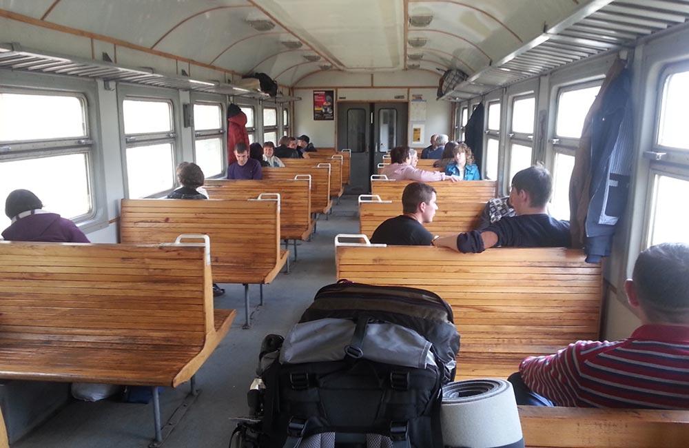 Pociągi na Ukrainie