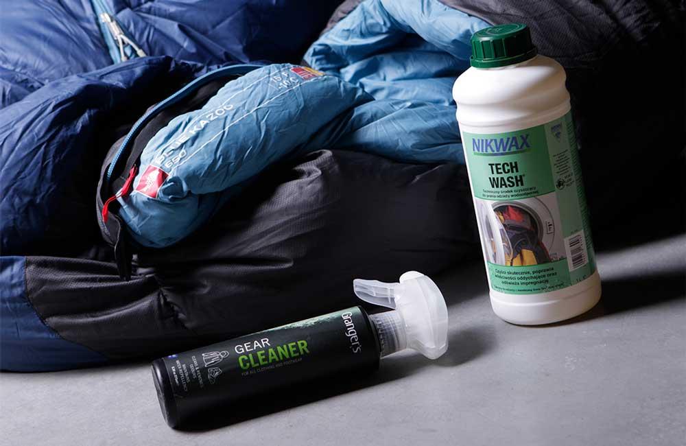 Jak prać śpiwór? Pranie śpiwora z odpowiednimi środkami nie musi być takie trudne.