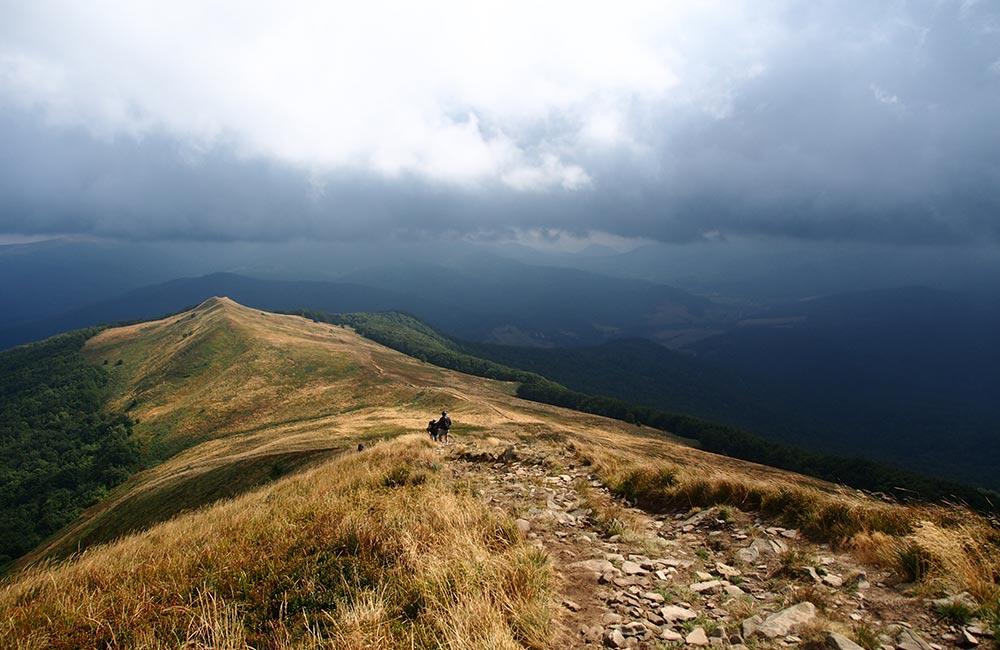 Główny Szlak Beskidzki w Bieszczadach
