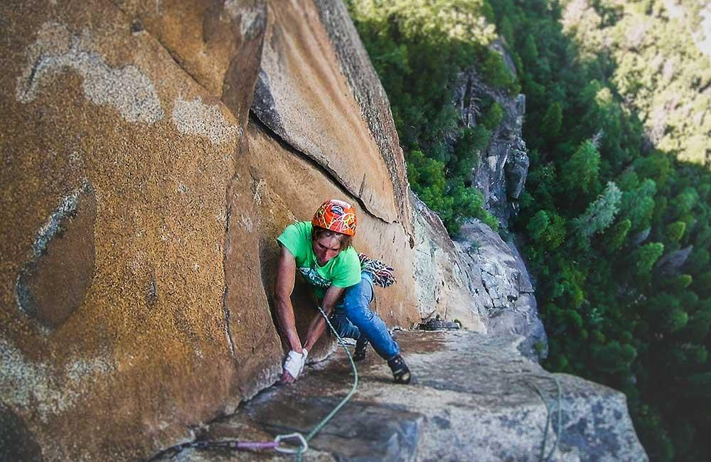 wspinaczka na Yosemite
