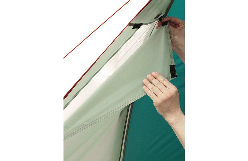 namiot z oknami