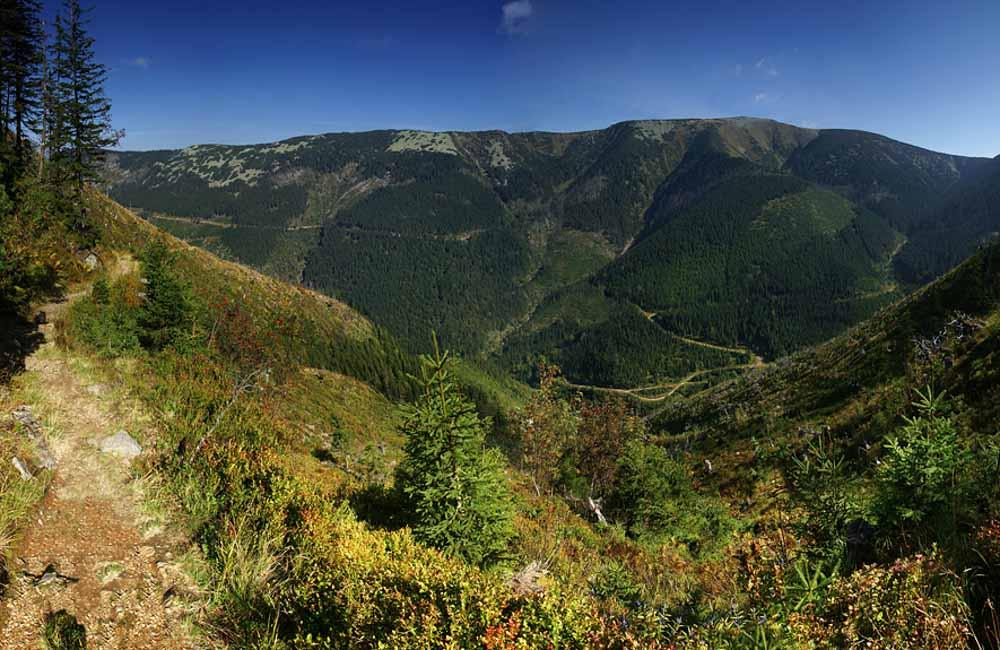 Szlaki w okolicach Szpindlerowego Młyna