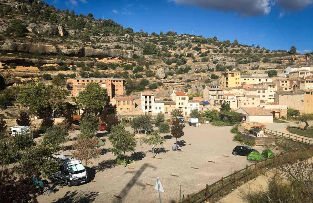 Gdzie się wspinać w Hiszpanii? Kemping w Margalef