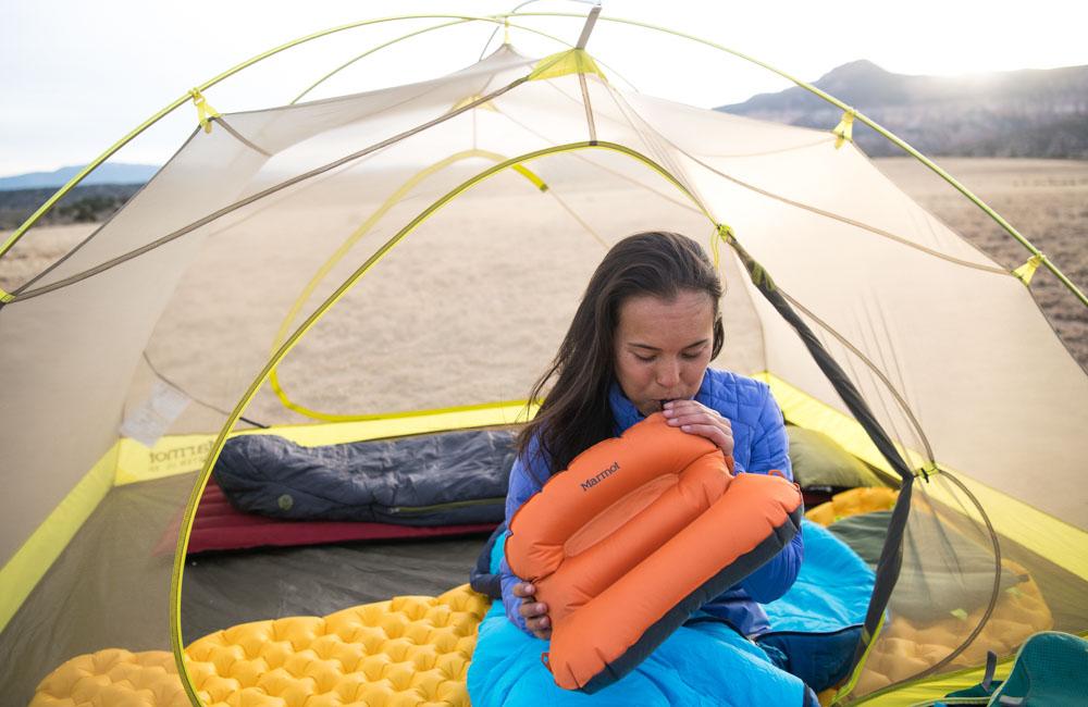 poduszka pod namiot