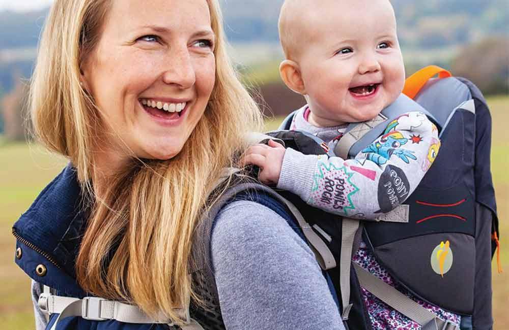 1115682831a92 Nosidełko turystyczne – od jakiego wieku dziecka zacząć je używać  Zwykle  granicą jest 7-8 miesięcy. (fot. LittleLife)