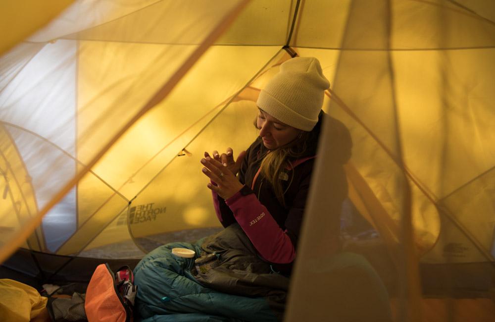Kosmetyczka pod namiot